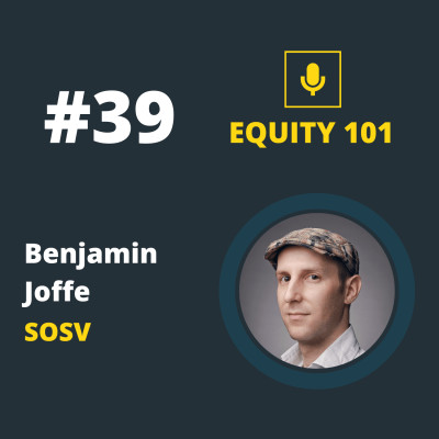 #39 Benjamin Joffe (SOSV) - Le playbook de l'investissement Hardware cover