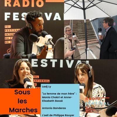 Ladj Ly, Monia Chokri et Anne-Elisabeth Bossé, Antonio Banderas - 18 mai 2019 cover