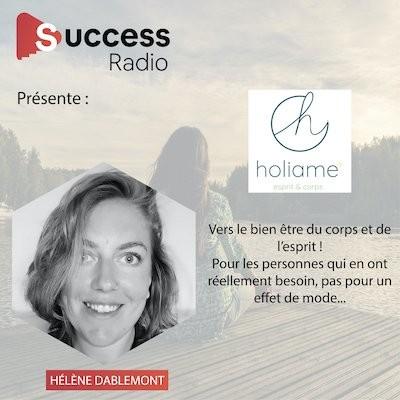 Hélène Dablemont, créatrice d'Holiame cover