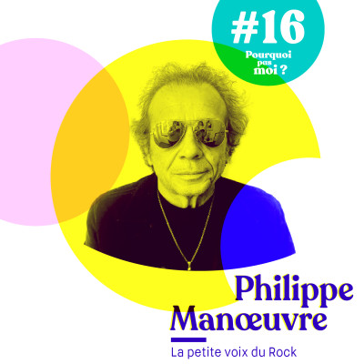#16 Philippe Manoeuvre - La petite voix du Rock cover