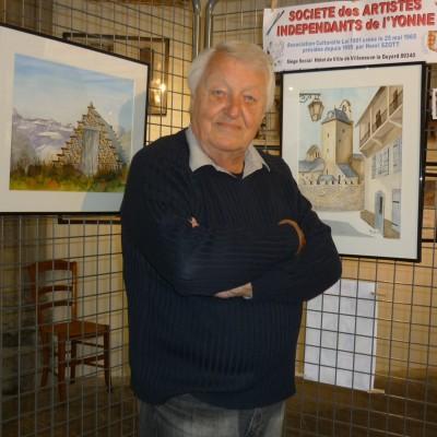 HENRI SZOTT, peintre, photographe officiel de l'ELYSEE de 1986 à 1995 cover
