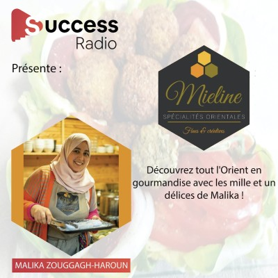 Malika Zouggagh-Haroun - Traiteur Mieline Roubaix cover