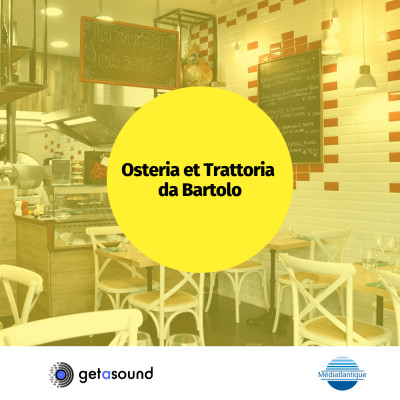 Osteria da Bartolo : Restaurant Italien au quartier St Pierre cover