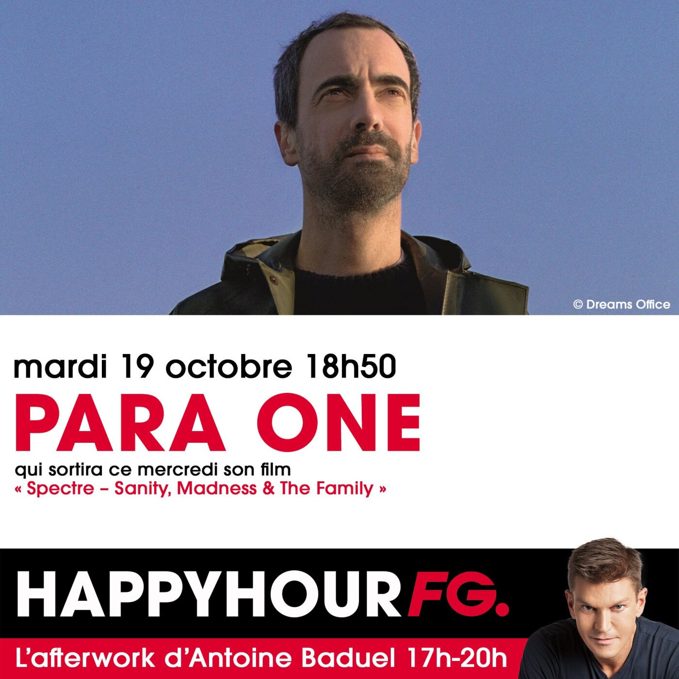 HAPPY HOUR INTERVIEW : PARA ONE