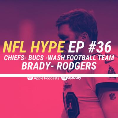 HYPEPODCAST EP #36 NFL DAY 1 : TOM BRADY  DEJA CRITIQUE cover