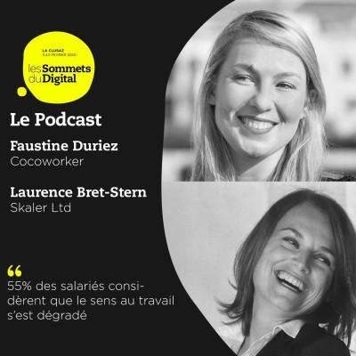 Cover' show Faustine Duriez & Laurence Bret-Stern - Réinventer la culture d'entreprise et le bien-être