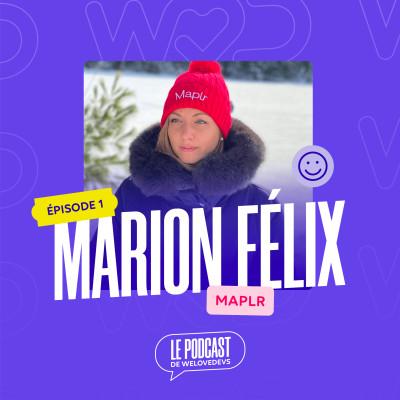 #1 - Marion Félix (Maplr) - Les bonnes questions pour être un développeur heureux en 2021 cover