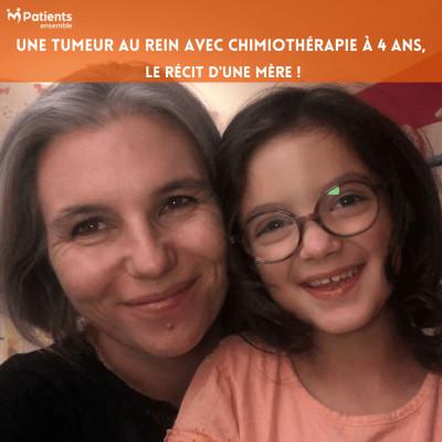 PODCAST 130 - Une tumeur au rein avec chimiothérapie à 4 ans : le récit d'une mère ! cover