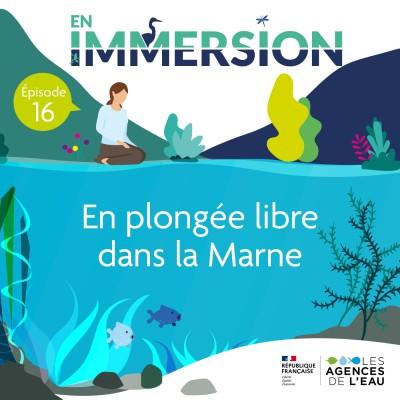 En plongée libre dans la Marne cover