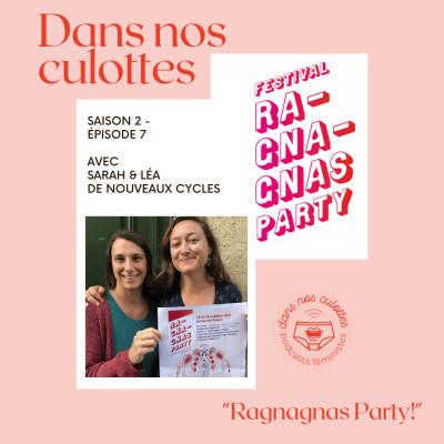 """""""Ragnagnas Party"""" avec Sarah et Léa de Nouveaux Cycles cover"""