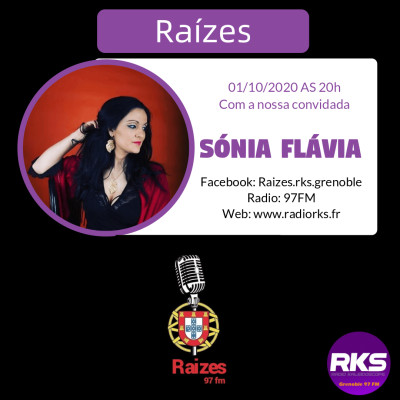 RAIZES  - Emission du 01/10/2020 avec Sonia Flavia cover