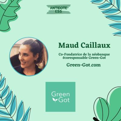 Réduire son impact carbone avec sa néobanque - Maud Caillaux - Green-Got cover