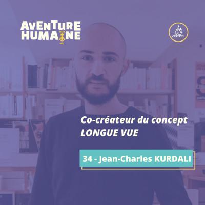 #34 - 🎙 Jean-Charles KURDALI 📚 - Il lit 83 livres par an - Comment rentabiliser sa soif d'apprendre et d'entreprendre ? cover