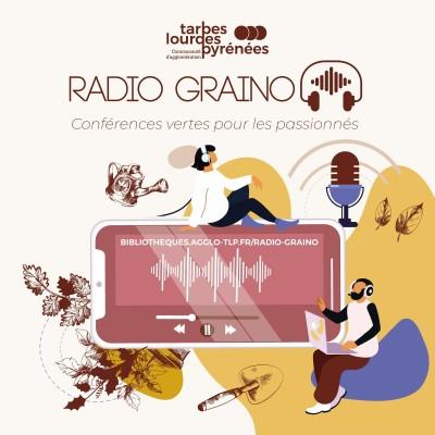 Episode 13 Un peu de poésie au jardin - Radio Grain cover