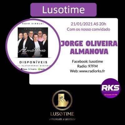 LUSOTIME - Emission du 14/01/2021 avec Almanova (Jorge Oliveira) e Projeto Missoes para o mundo cover