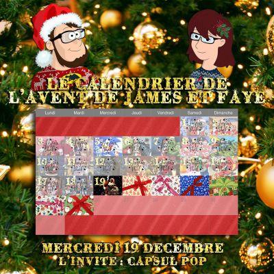 Calendrier de l'avent 19 décembre : Youri de Capsul Pop cover