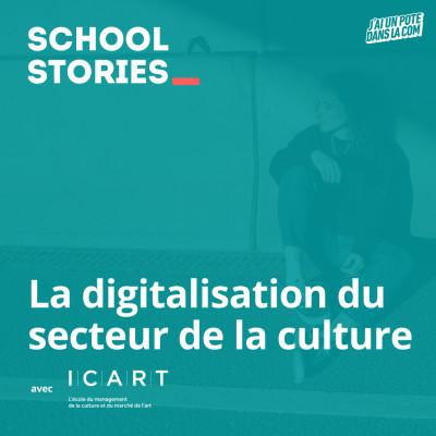 La digitalisation du secteur de la culture - ICART cover