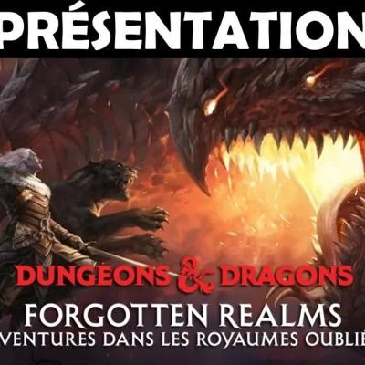 Présentation du set Donjons & Dragons x Magic: The Gathering - Aventures dans les Royaumes Oubliés cover