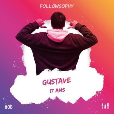 :08 Gustave - 17 ans : Adieu Insta, TikTok, Snap...au moins jusqu'au Bac ! cover