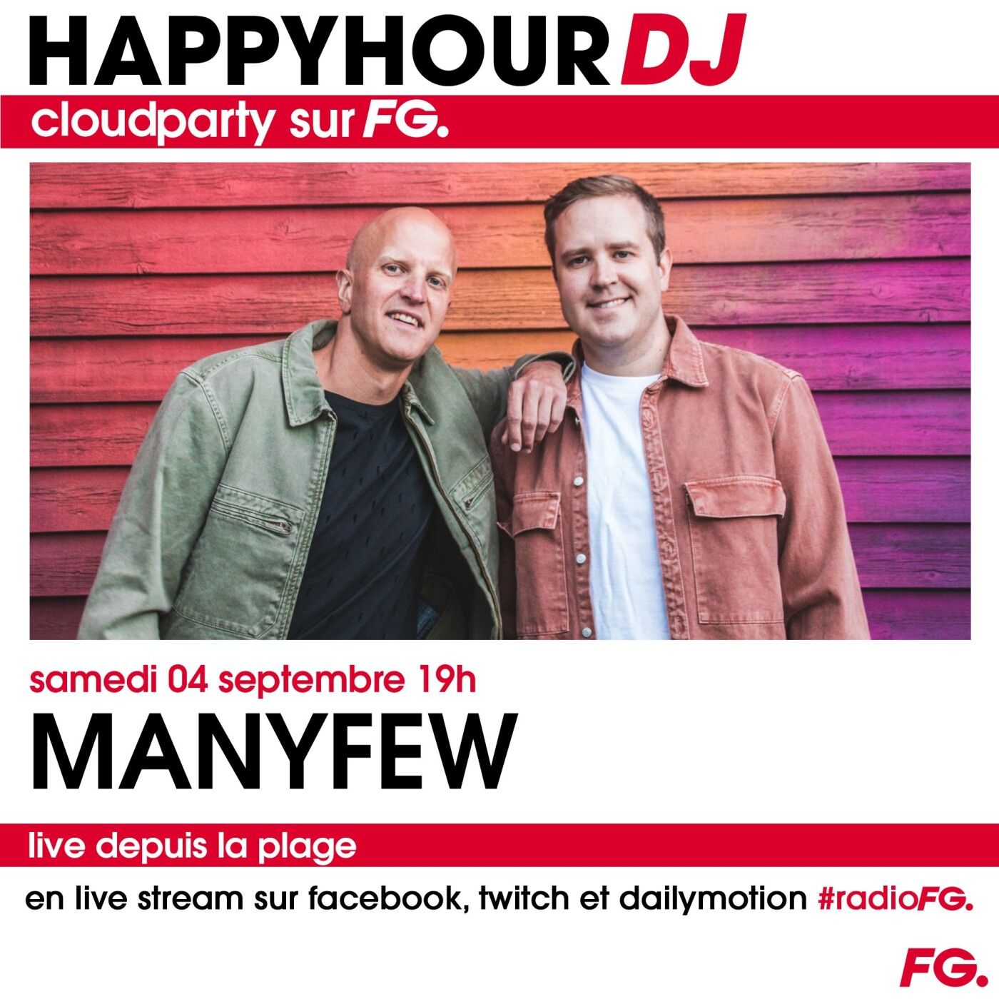 HAPPY HOUR DJ : MANYFEW