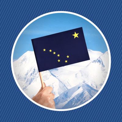 L'histoire du drapeau de l'Alaska cover
