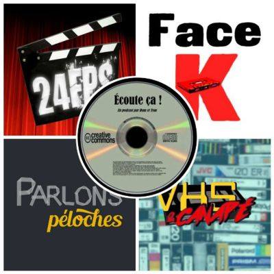 image Ep 34 : Zikdepod 6 (VHS & Canapé, Face K, 24 FPS, Parlons Péloches)