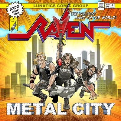 213Rock Podcast Harrag Melodica Interview with John Gallagher of Raven New album Metal City Out  Sept 18th 10 09 2020 cover