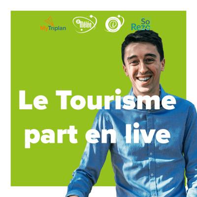 Le tourisme part en live cover