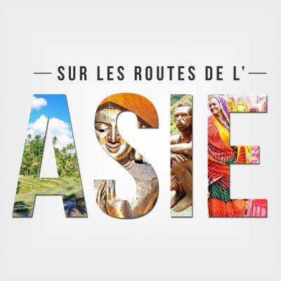 Sur les routes de l'Asie cover