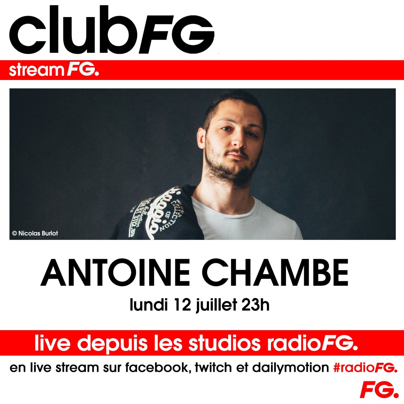 CLOUD PARTY : ANTOINE CHAMBE