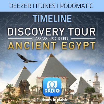image Discovery Tour : Jules César, touriste en Egypte !