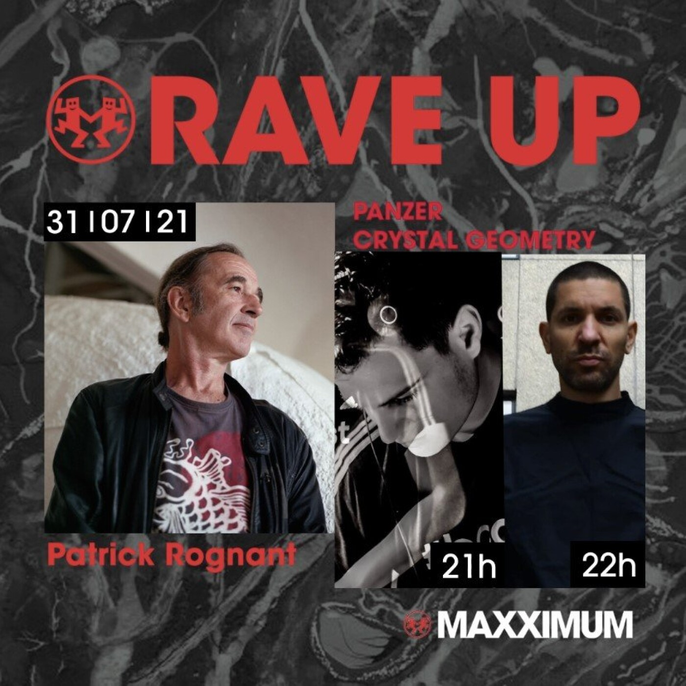 RAVE UP : PANZER & CRYSTAL GEOMETRY