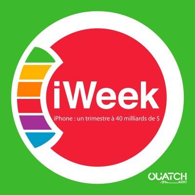 iWeek (la semaine Apple) 49 : iPhone, un trimestre à 40 milliards de $ cover