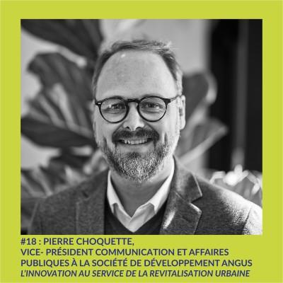 #18 : Pierre Choquette, Vice-président communication et affaires publiques à la Société de développement Angus cover