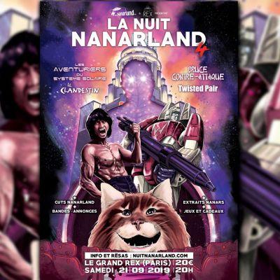 Le debrief de la Nuit Nanarland à la sortie du Grand Rex ! cover
