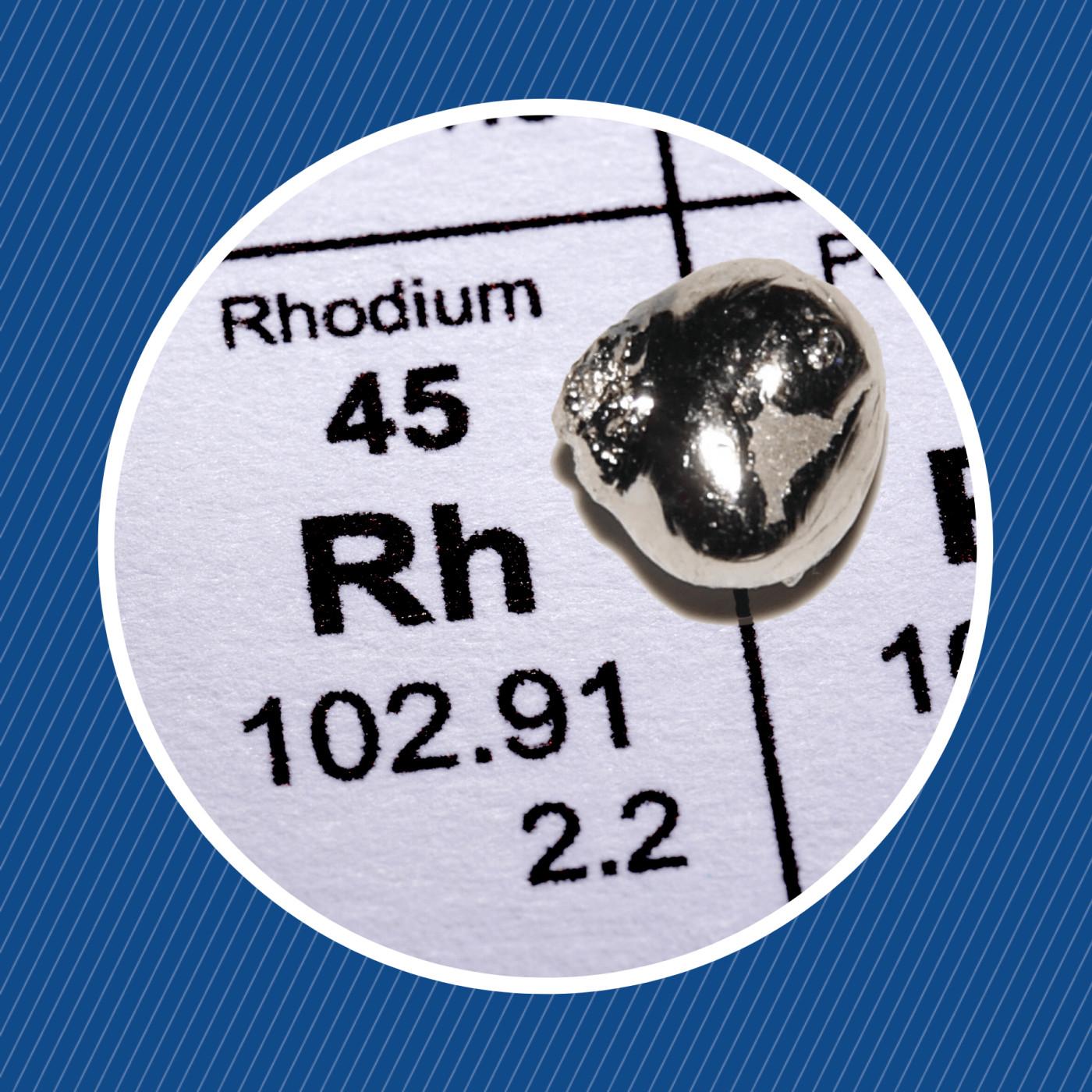 Qu'est-ce que le rhodium ?