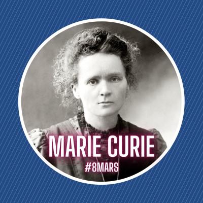 Marie Curie, l'histoire d'une femme pionnière cover