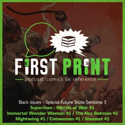 DC Future State : le bilan de la semaine 3 ! [Back Issues VO] cover