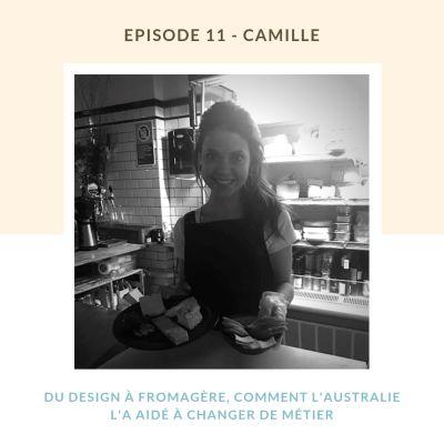 Camille, Du design à fromagère, comment l'Australie l'a aidé à changer de métier cover