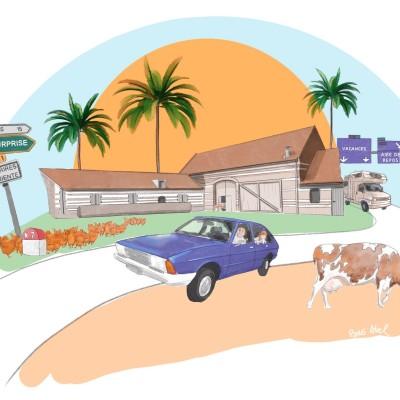 La route des vacances (3/3) : le temps des retrouvailles cover