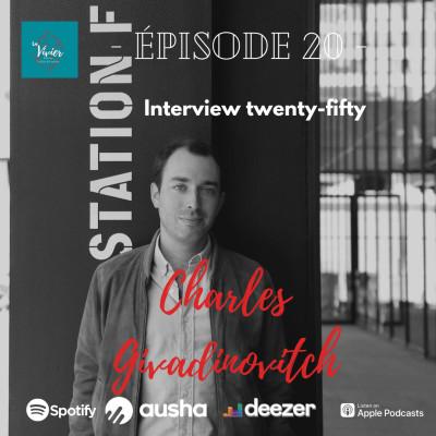 EP 20- Interview Charles Givadinovitch - Fondateur & CEO des Laboratoires L'Esthétic ,  Homme politique cover