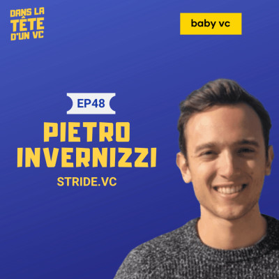 #48 Pietro Invernizzi (Stride.VC) : the kings of pre-seed cover