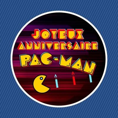 Le jeu Pac-Man a 40 ans !