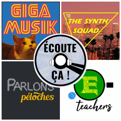 Ep 61 : Zikdepod S02E08 (E-Teachers, Parlons Péoches, The Synthsquad, Giga Musik) cover