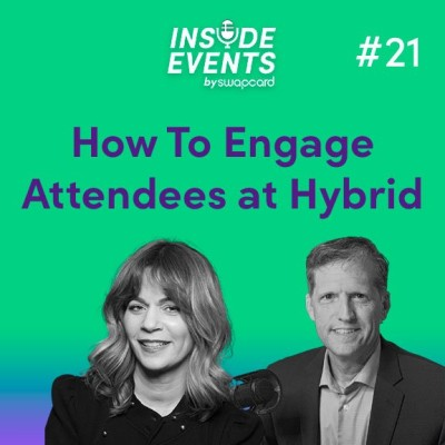 How To Engage Attendees at Hybrid Events with Lori H. Schwartz & Thom Singer cover
