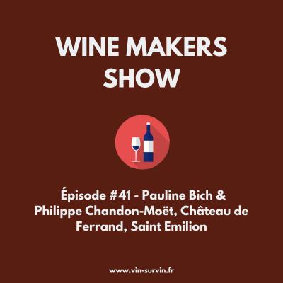#41 - Pauline Bich & Philippe Chandon-Moët - Château de Ferrand cover