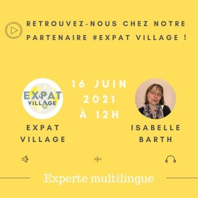 Isabelle est experte multilingue - 16 06 2021 - StereoChic Radio cover