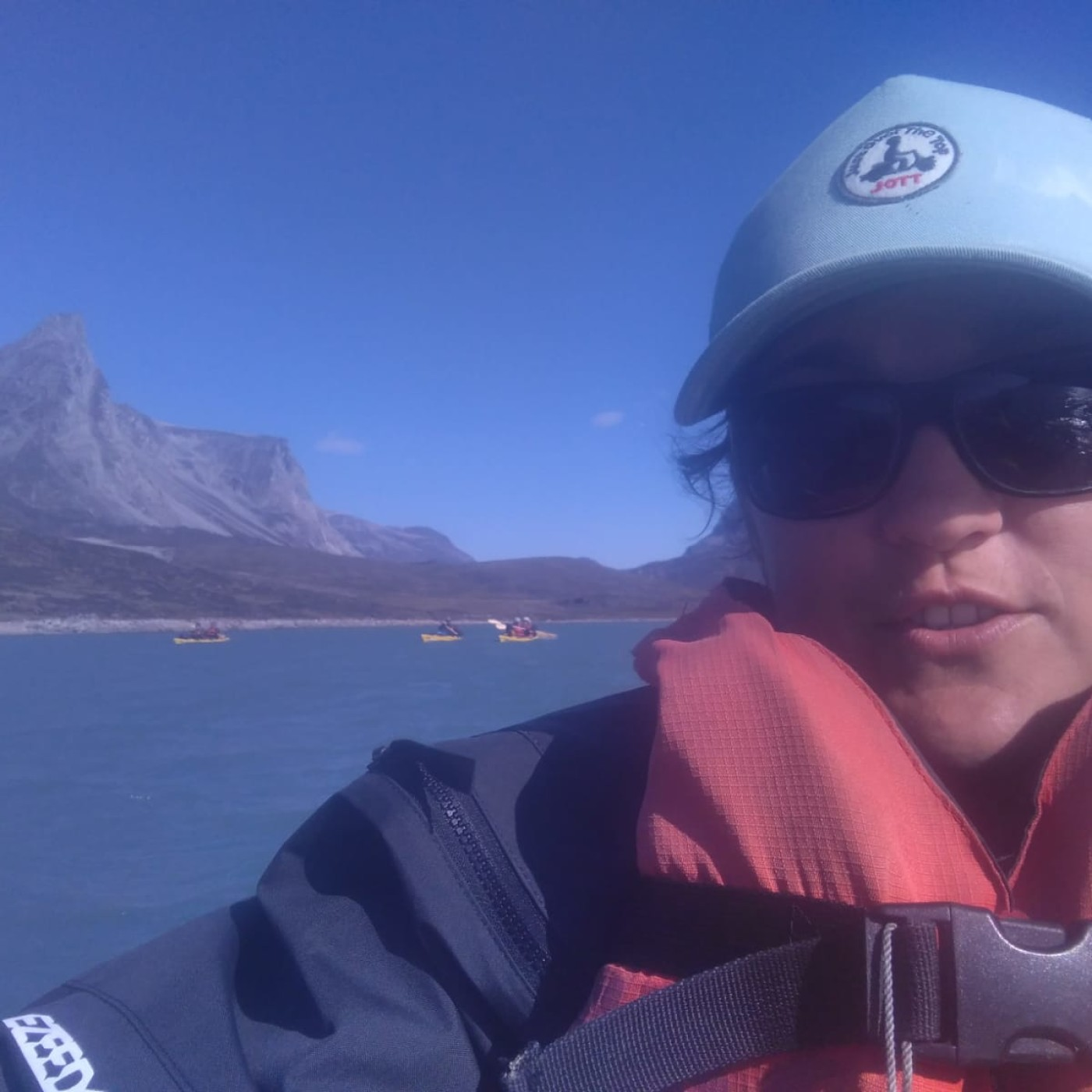 [INTEGRALE] Marie au milieu des glaçons : le Groenland en Canoë-kayak
