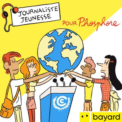 Lauriane, reporter auprès des ados à la COP25 cover
