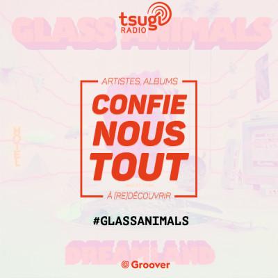 Confie-nous tout, la quotidienne avec Jean Fromageau : Glass Animals cover